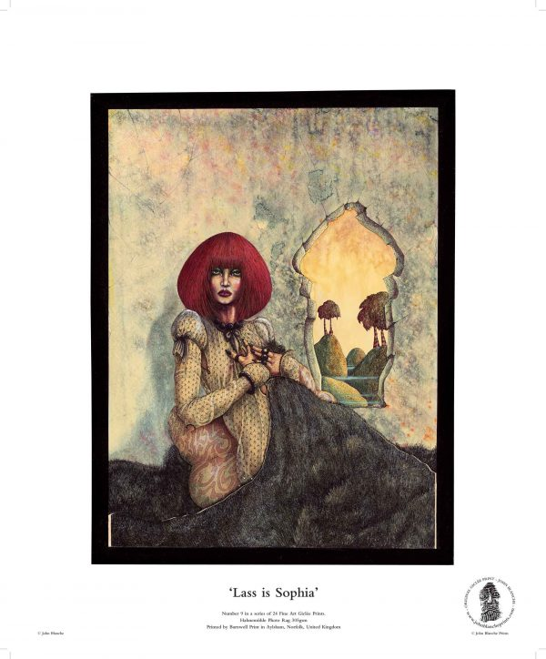 Lass is Sophia by John Blanche