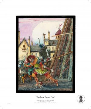Bedlam Burst Out by John Blanche