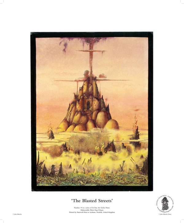 The Blasted Streets by John Blanche