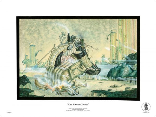 The Burrow Drake by John Blanche