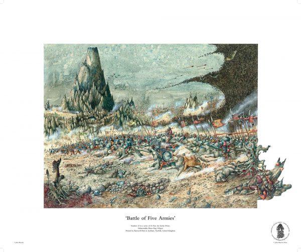 Battle of Five Armies by John Blanche